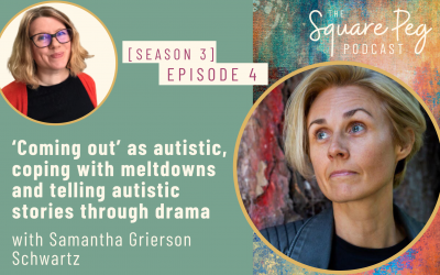 [35] S3, Ep4: 'Coming out' as autistic, coping with meltdowns and telling autistic stories through drama