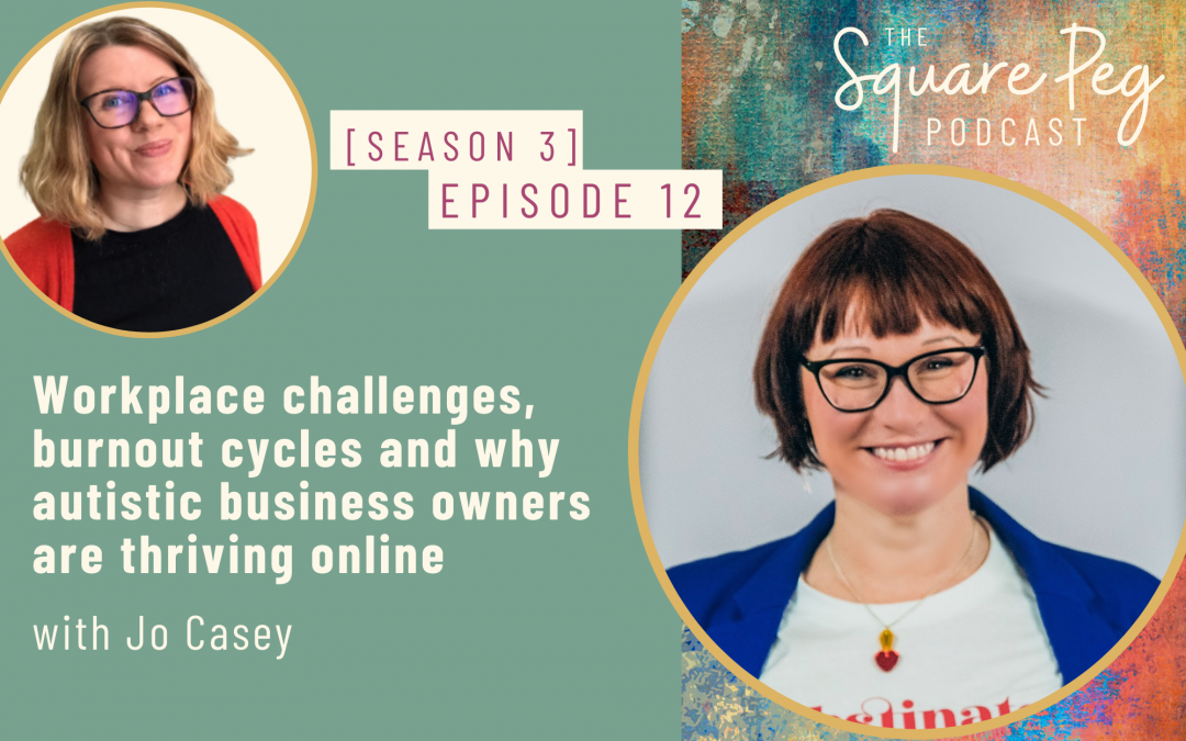 [43] S3, Ep12: Workplace challenges, burnout cycles and why autistic business owners are thriving online