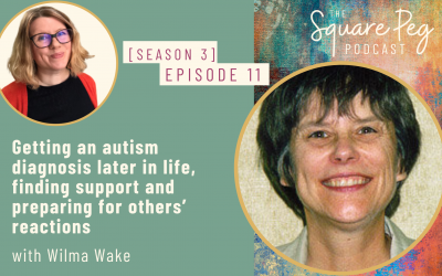 [42] S3, Ep11: Getting an autism diagnosis later in life, finding support and preparing for others' reactions